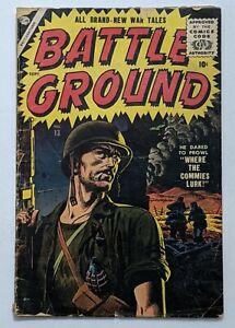 Battleground #13 (Sept 1956, Atlas) Good+ 2.5 Russ Heath cover Al Williamson art
