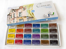 24 Watercolor Paint Set Artists SONNET Full Pan St.Petersburg RUSSIA