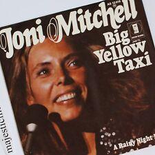 ORIGINAL 1974 JONI MITCHELL BIG YELLOW TAXI 7 INCH VINYL NM RARE