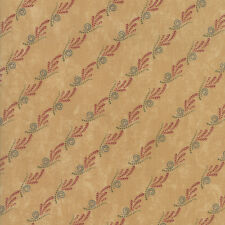 Moda Fabric Thistle Farm Stripe Sand - Per 1/4 Metre