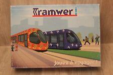 Jeu de société Tramwer sur le tramway de Montpellier, jouer à voyager - éducatif