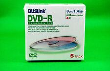 Buslink DVD-R Recordable DVD 8cm / 1.4 GB 30 Minute Video 4X