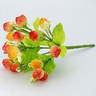 1 Bouquet 15 Head Artifical Rose Silk Flower Wedding Party Home Decoration Decor