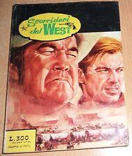 ED.ELLEPPI  SERIE  SCORRIDORI DEL WEST   N° 2    1973  ORIGINALE !!!!!