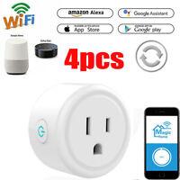 10A Mini WiFi Smart Timer Plug Socket Alexa App Remote Control Power Switch I3G0