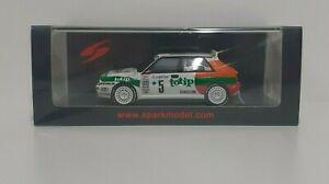 Model Car Diecast 1:43 Spark Spear Delta Rally Monte Carlo 1993 Modeling
