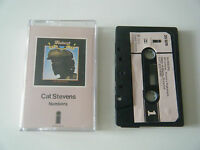 CAT STEVENS NUMBERS CASSETTE TAPE 1975 PINK PAPER LABEL ISLAND UK