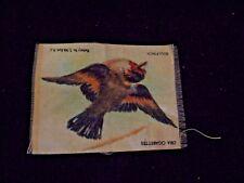 New listing Vintage Zira Cigarettes Bullfinch Bird Tobacco Silk Card