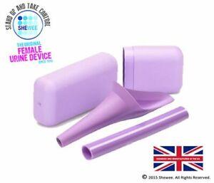 Shewee Flexi + Case - The ORIGINAL Female Urination Device - Lilac