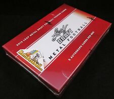 2013 Leaf Metal Draft Football Hobby Box New Factory Sealed 5 Autographs Per Box