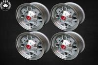 4x Leichtmetallfelge Abarth Style 5x12 ET 20 für Fiat 500 NEU TÜV