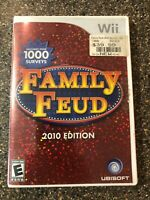 Family Feud 2010 Edition (Nintendo Wii) - Complete w/ Manual - Free Shipping