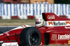 Andrea de Cesaris BMS Scuderia Italia Dallara F190 F1 saison 1990 Photographie 1