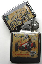 Retro Car Sign Windproof LIGHTER Old School
