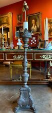 Late 19th Century Baroque Torchiere Floor Lamp
