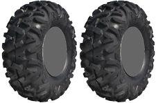 Pair 2 GBC Dirt Tamer 27x11-12 ATV Tire Set 27x11x12 27-11-12