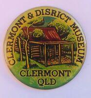 Clermont Queensland District Museum Australia Souvenir Magnet Vintage (R11)