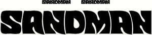 Sandman Black & Silver Large Sticker Decal Set, 1 @ 1320 x 220mm, 2 @ 250 x 35mm
