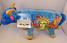 "Commonwealth Cow Parade New York Plush 11"" Long"