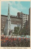 "*Indiana Postcard-""Christ Church...Episcopal, Indianapolis/ -Beautiful Landmark-"