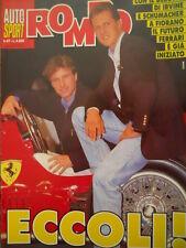 Auto & Sport ROMBO 47 1995 Ferrari ecco i nuovi piloti SCHUMACHER e IRVINE