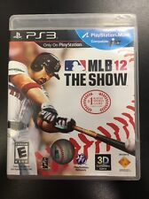 MLB 12: The Show - Used PS3, PlayStation 3 Game