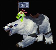 WoW Loot Card - Blizzcon 2008 WOW Polar Bear Mount LOOT - Big Blizzard Bear