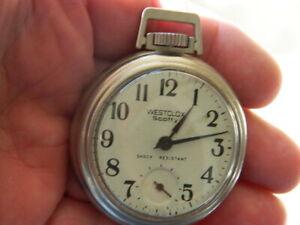 Westclox Scotty, Nice Watch, Dial, Hands, Case, Serviced, Runs   No Reserve !