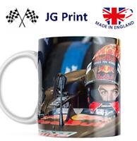 Max Verstappen Mug Red Bull F1 Racing Motorsport Mug