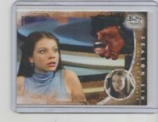 Buffy 10th Anniversary Trading Card #52 Michelle Trachtenberg as Dawn