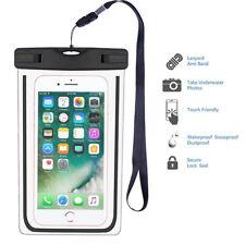 Outdoor Universal Wasserdicht Handy Tasche Case Cover Schutz Hülle Bumper
