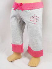 """American Girl AGP FASHION SHOW CROPPED PANTS in Bag for 18"""" Doll Pink Stars NEW"""