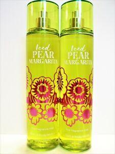 Bath Body Works ICED PEAR MARGARITA Fine Fragrance Mist 8 fl. oz/236 mL, NEW x 2