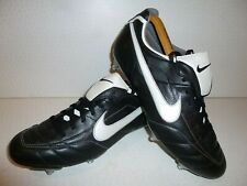 Nike Tiempo Mystic SG Football Boots 310114 011 Black White UK 10 45 US 11