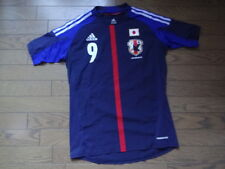 Japan #9 Okazaki 100% Authentic Player Issue Soccer Jersey L 2012/13 formotion