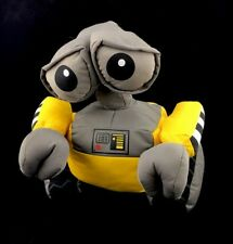 Disney Store Exclusive Disney/Pixar Wall-E Plush Rotating Head 12 inches