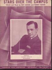 1939 Roy Jacobs and Tommy Tucker Sheet Music (Stars Over the Campus)