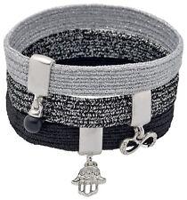 PILGRIM bijoux argent CHARMES Métallique Hairband Set, Fatma Infinity, idée cadeau