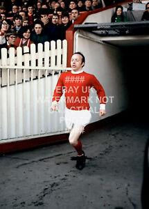1968 NOBBY STILES ACTION PHOTO CHOOSE SIZE MANCHESTER UNITED MAN UTD