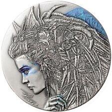 2018 Niue $2 Dark Beauties CASSANDRA 50g Silver Coin...  Ready To Ship.