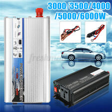 3000/3500/4000/5000/6000W Solar Power Inverter DC 12V to AC 220V Car Sine
