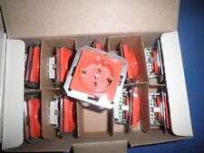1 x Siemens Schuko Steckdosen DELTA  5UB1 513 NEU 5UB1513 orange 10/16A 250V