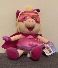 """Disney Junior SUPER FABULOUS PIGGY Muppets Babies - 8"""" Plush NEW Ages 2+"""