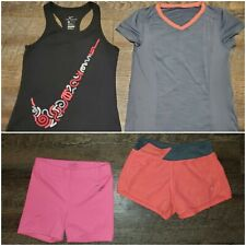 Girls 4 Piece Clothing Lot, Nike, Dansin, Justice, Activewear, M/7-8