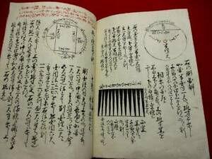 1-10 SANPO Japanese Mathematics Hand-writing manuscript Book