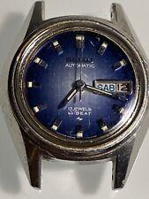Seiko Watch 17J Automatic Ladies  HI-BEAT 2206-0440 runs - no band - LOOK