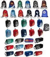 OFFICIAL FOOTBALL CLUB - BAGS Backpacks/Drawstring/Gym/Boot/Shoe Bag (School)