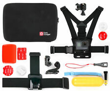 Duragadget | Hard Shell Storage Case & Accessory Kit For GoPro Hero 8 Black