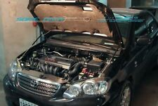 02-07 Toyota Corolla / Altis Silver Carbon Strut Hood Shock Lift Damper Kit