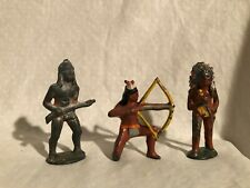 Barclay Manoil Native American Lead Figures Lot
